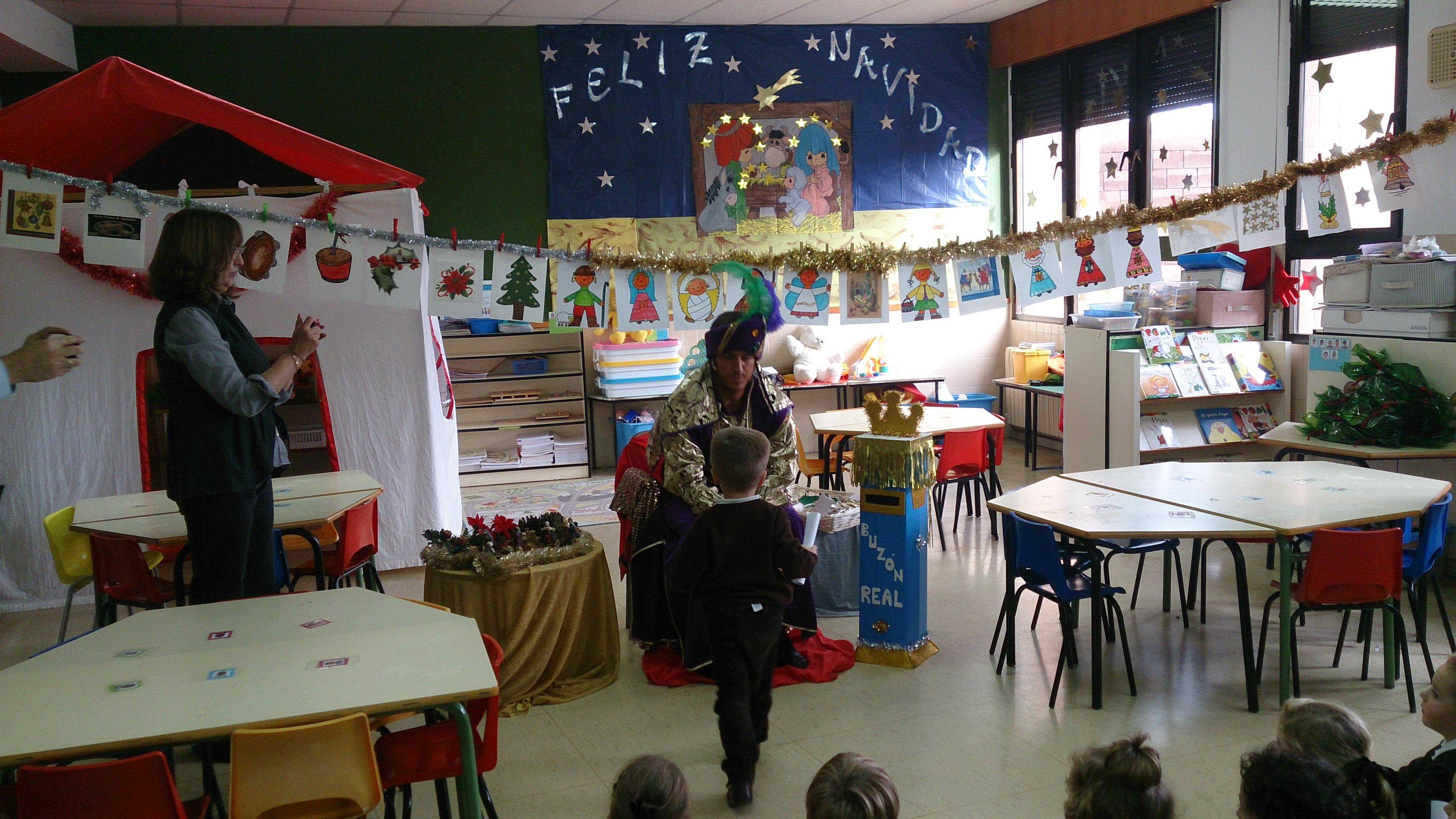 El Príncipe Aliatar visita a los alumnos de EI y primer ciclo de EP